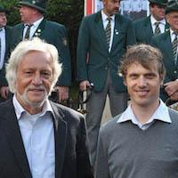 Ulrich Bremauer und Benjamin Kienzler, Geschäftsführer der SIVENTIS Windprojekte GmbH