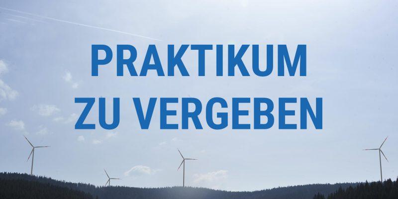Praktikum bei Windkraft Schonach GmbH